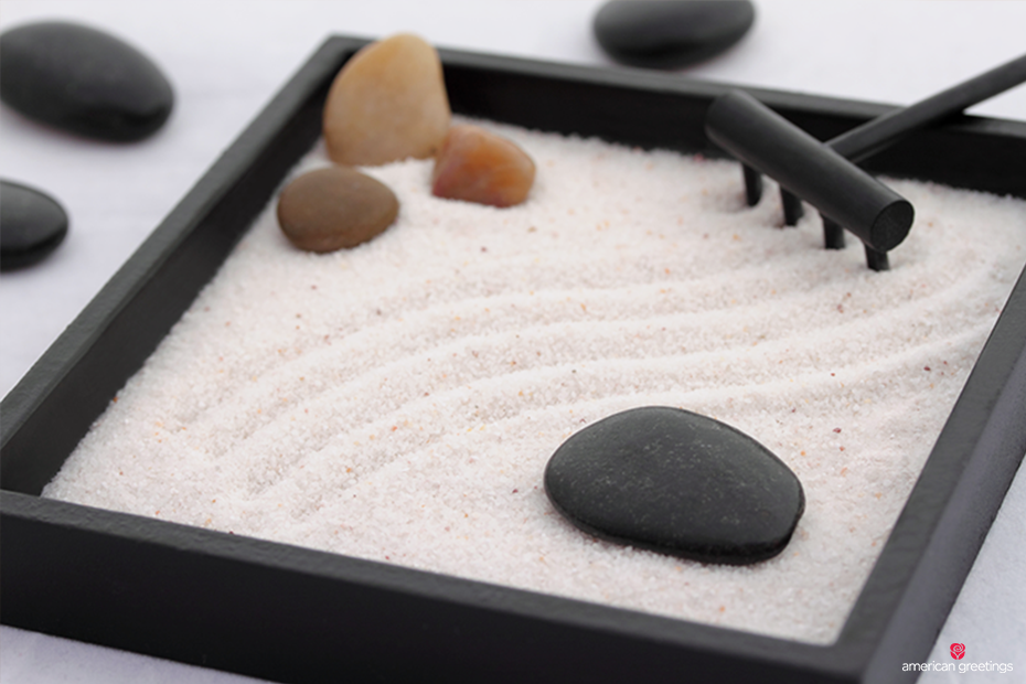 A Miniature Zen Garden For Desktop
