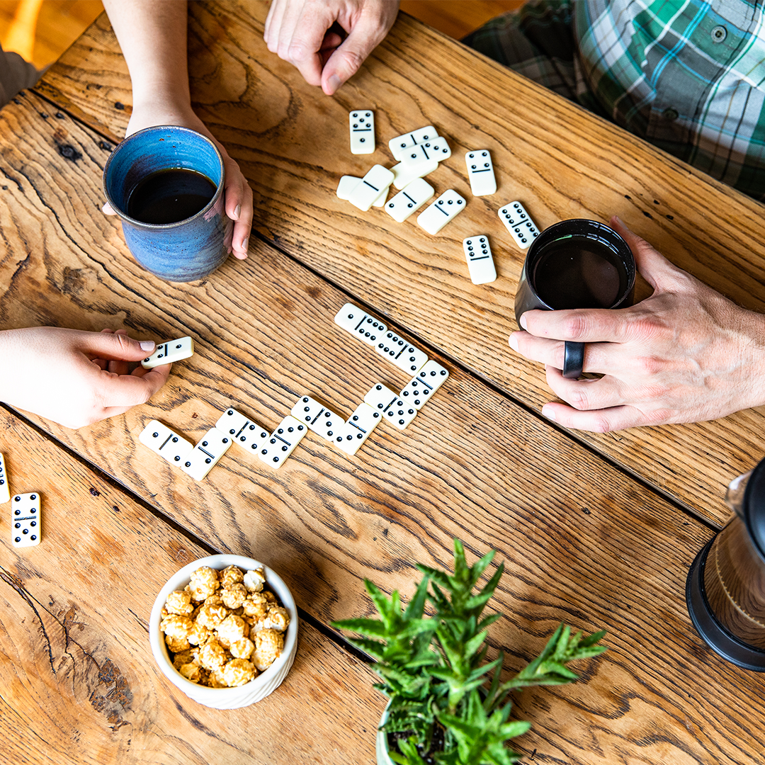 Gather the family for a little friendly competition and host a game night.