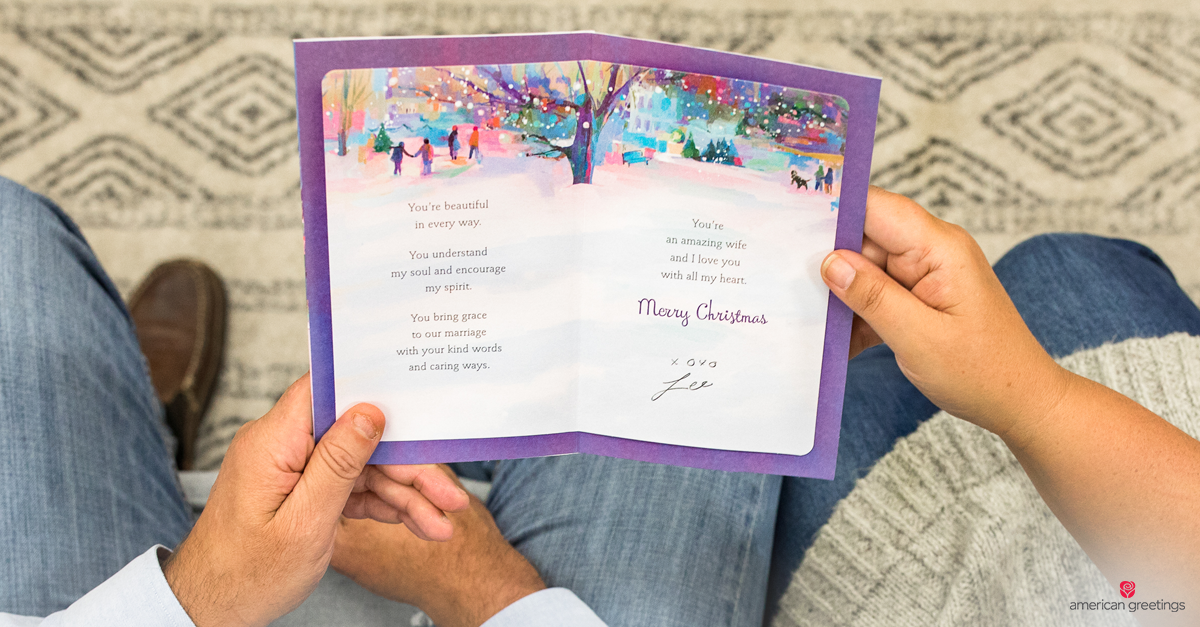 Christmas Messages for Wife - American Greetings