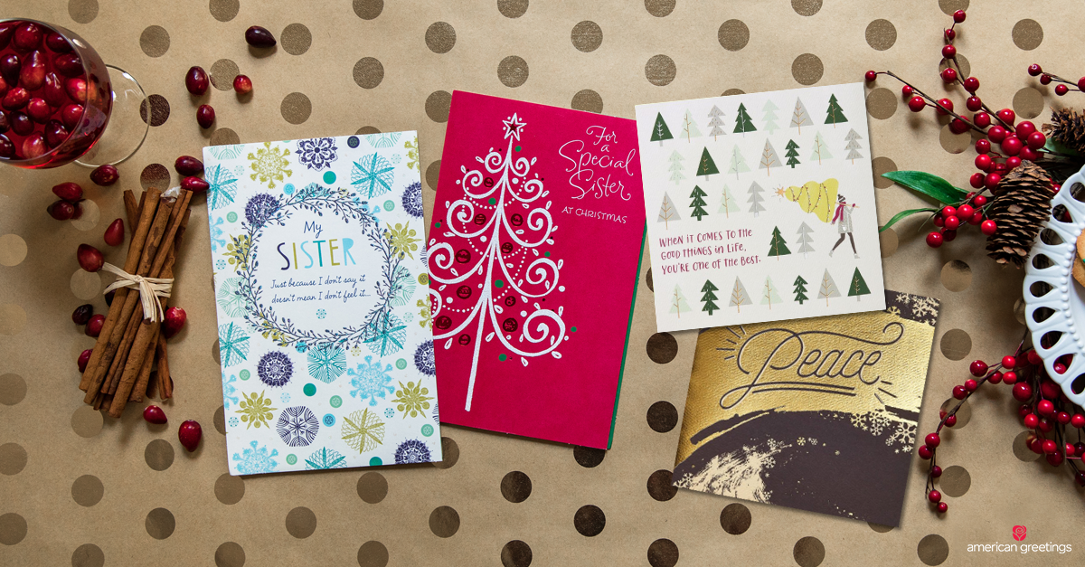 Christmas Messages for Sister - American Greetings