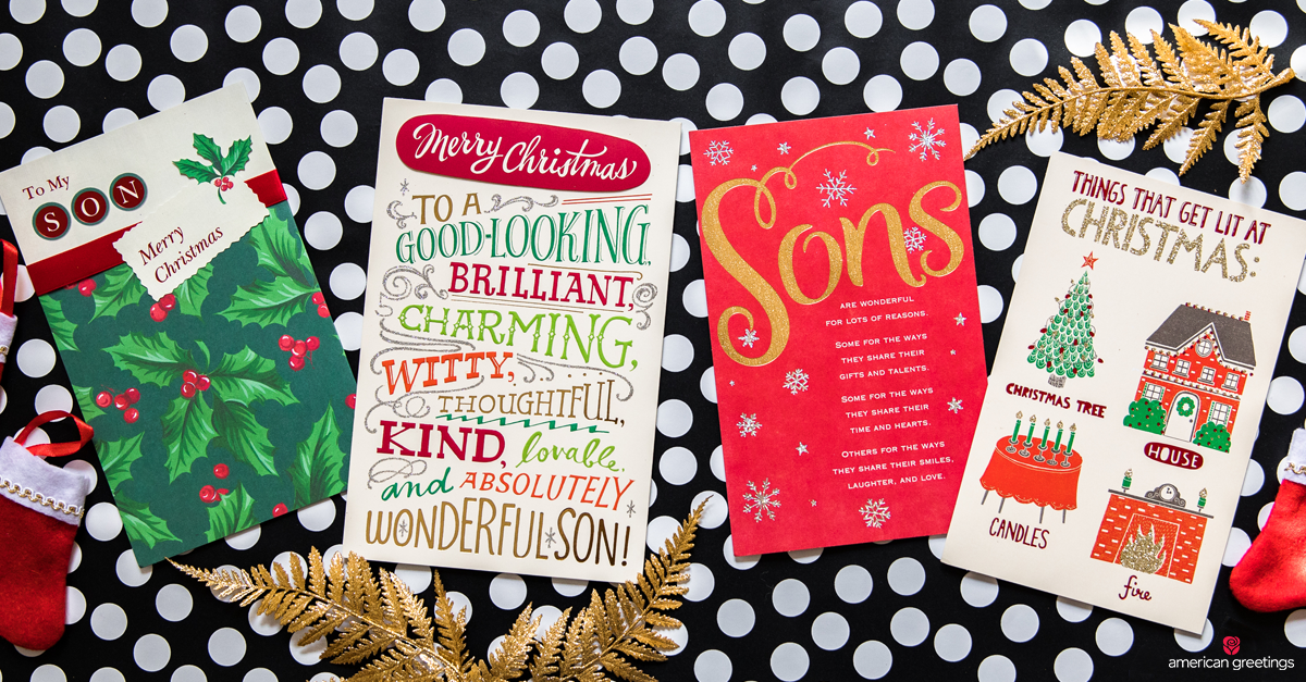 Christmas Messages for Son - American Greetings