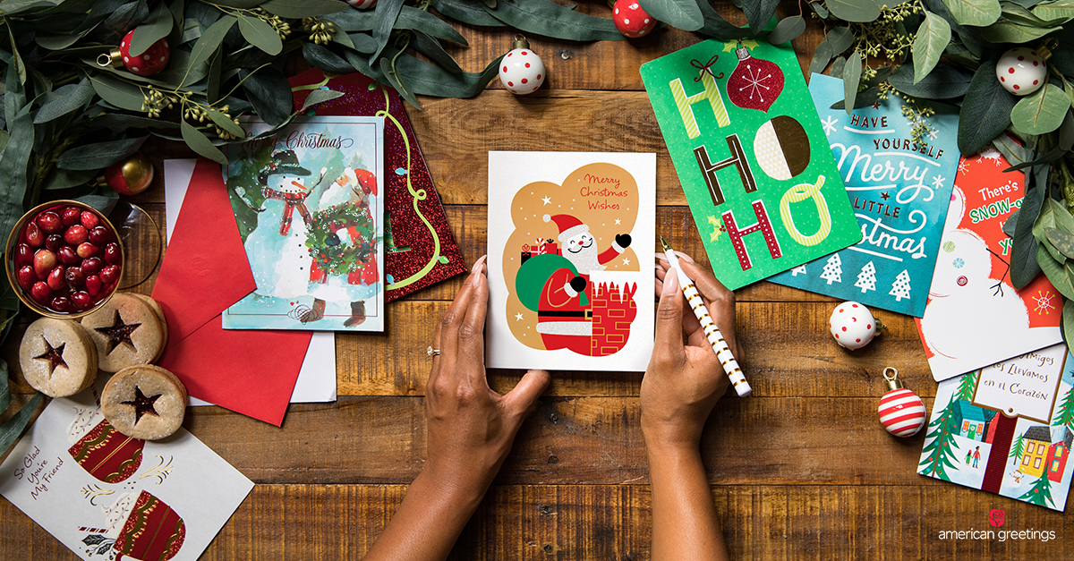 What to Write in a Christmas Card - American Greetings