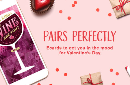 What Kind Of Wine Ecard Pairs Perfectly Send Valentines Day Ecards