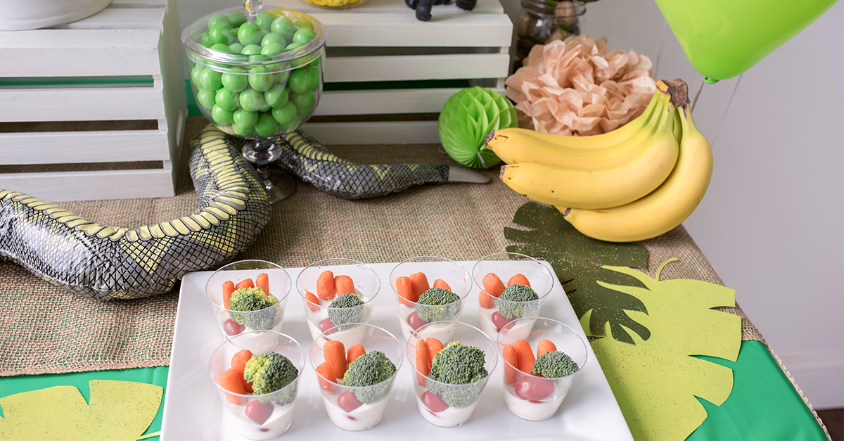 snack-sized veggie cups
