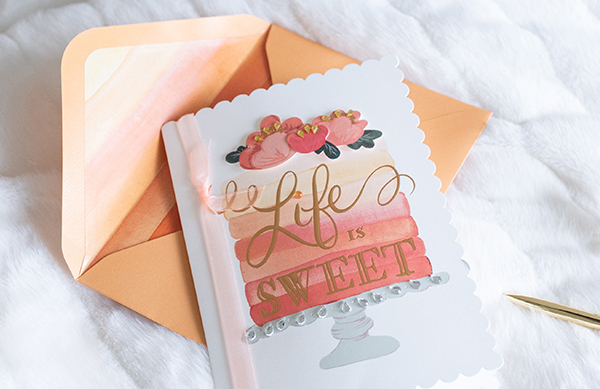 Image of Life is Sweet Birthday Card
