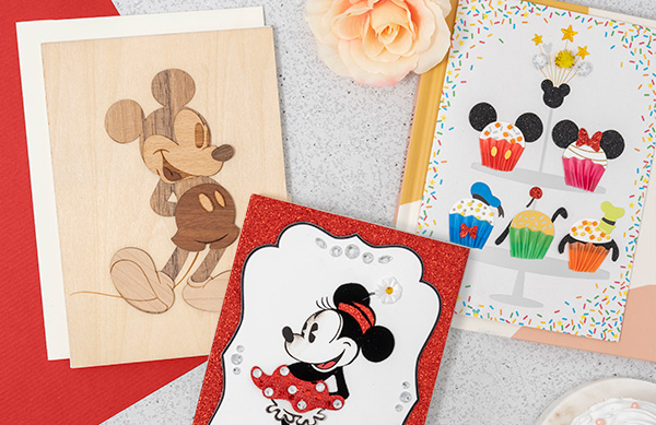 Minnie and Mickey greeting card bundles