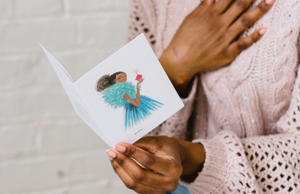 Bella Pilar Greeting Card