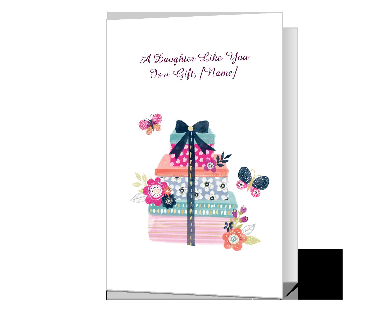 A Daughter Like You Printable American Greetings