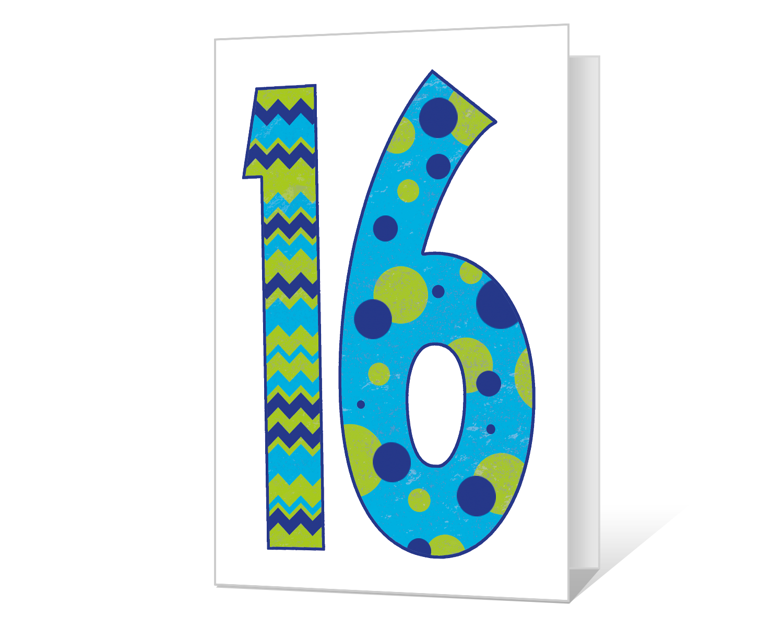 16th Birthday Printable American Greetings