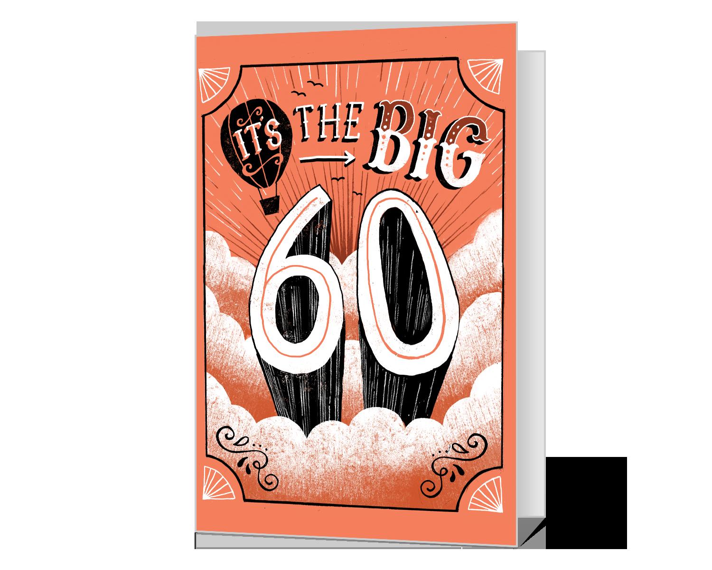 60th Birthday Printable American Greetings